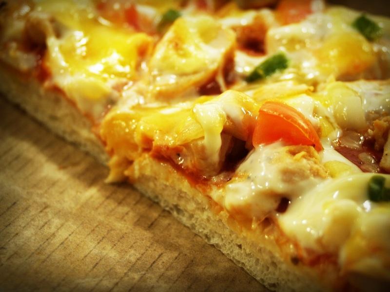 طريقة عمل البيتزا 5