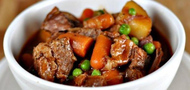 طريقة عمل يخنة اللحم 3