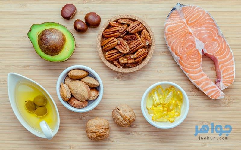 مصادر أوميجا ٣ من الطعام