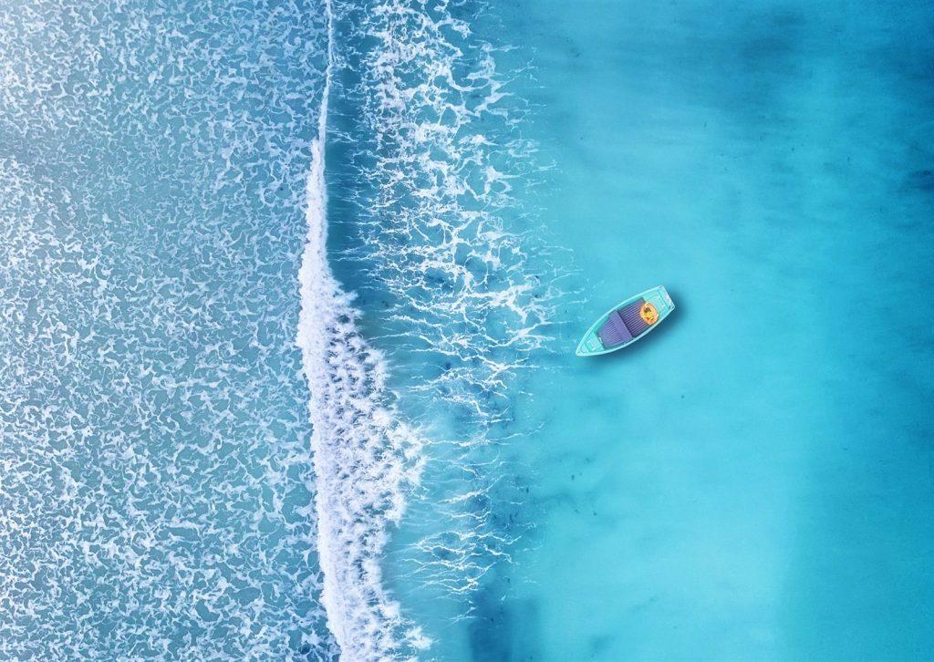 رمزيات مناظر طبيعية بحر ومركب
