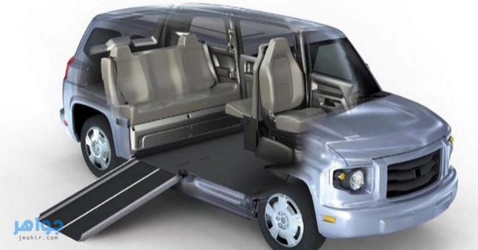 صور سيارات معاقين 2021