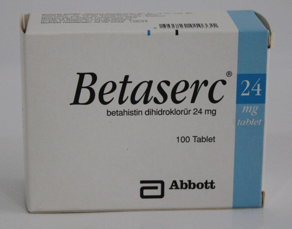 بيتاسيرك علاج التهاب الاذن الوسطى والدوار