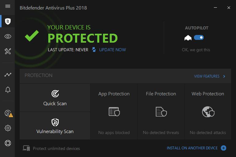 برنامج Bitdefender Antivirus