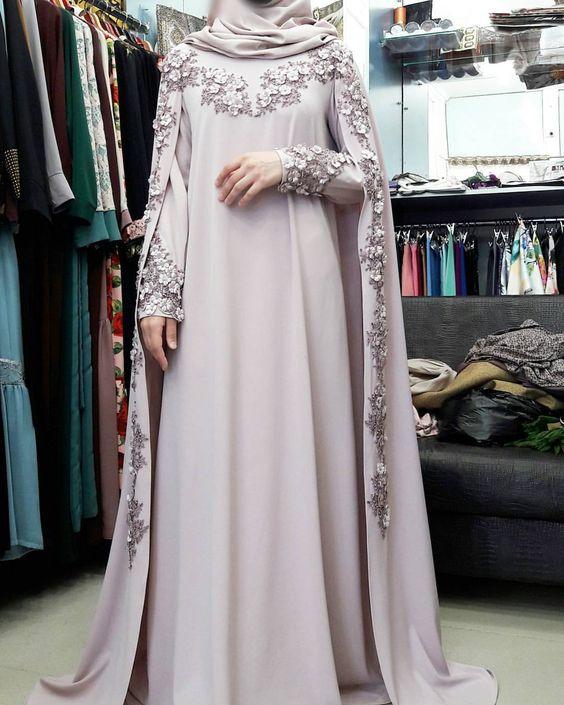 فستان سواريه صك للمحجبات