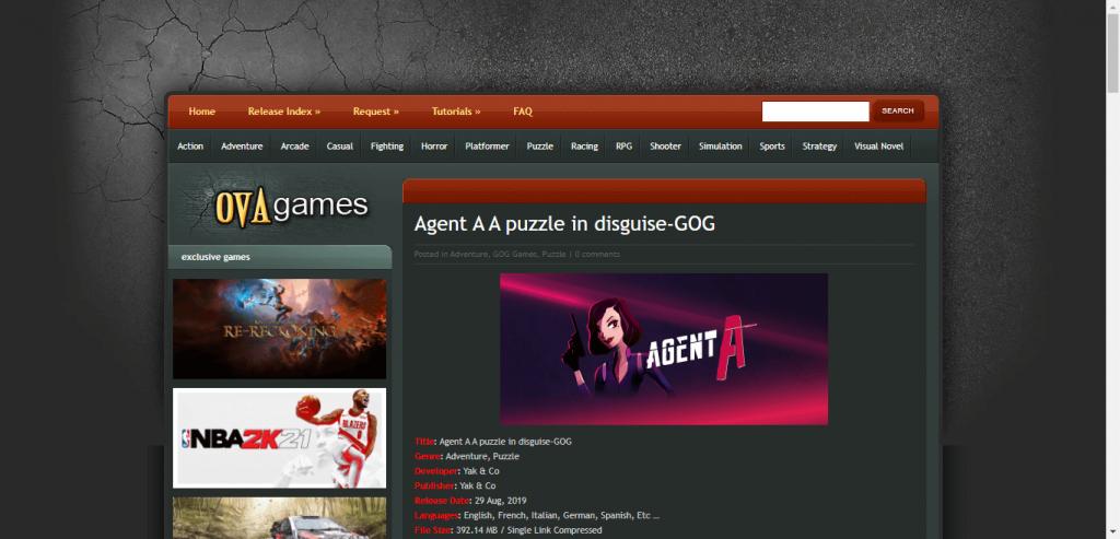 Ova Games
