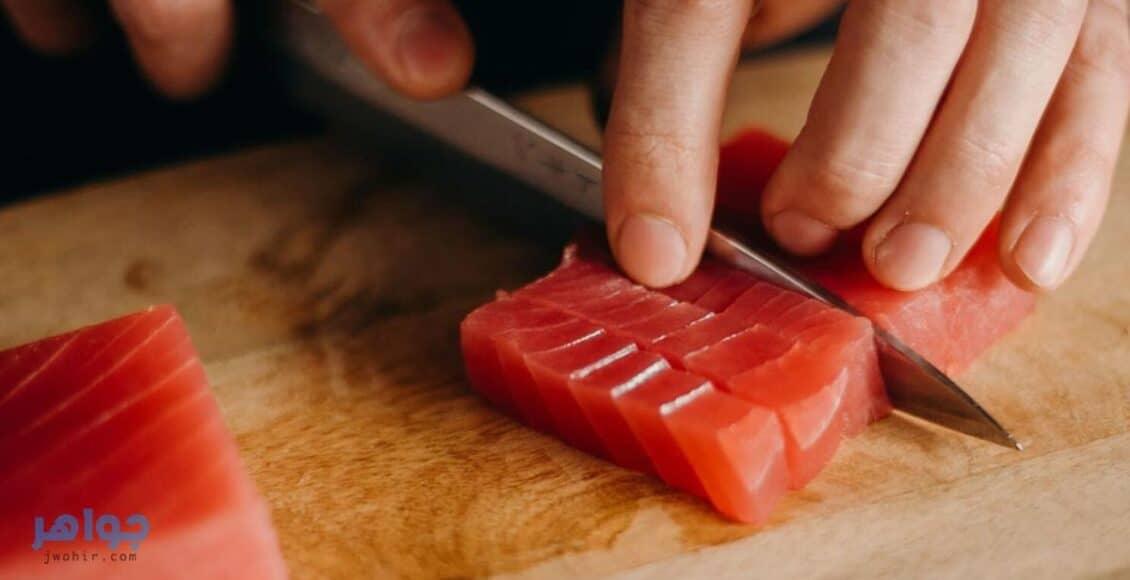 طريقة-عمل-سمك-التونة